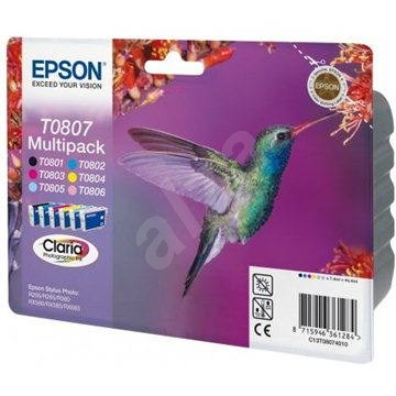 Epson T0807 multipack - Tintapatron