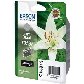 Epson T0597 világos fekete - Tintapatron