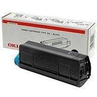 OKI 44469706 nyomtatópatron - kék - Toner