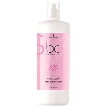 SCHWARZKOPF PROFESSIONAL BC Bonacure pH 4.5 Color Freeze Sulfate Free Micellar 1000 ml - Sampon