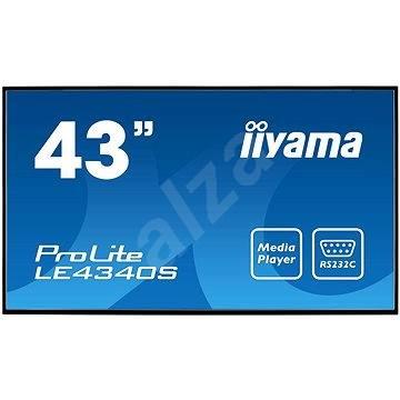 "43"" iiyama ProLite LE4340S-B1 - Nagyformátumú kijelző"