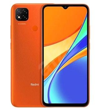 Xiaomi Redmi 9C 64 GB narancssárga - Mobiltelefon