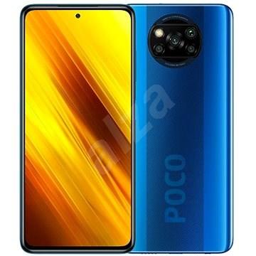 Xiaomi POCO X3 64 GB kék - Mobiltelefon