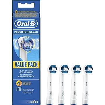 Oral-B cserefejek Precision clean  4db - Pótfej